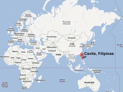 Veneración al beato Lolo en Cavite, Filipinas
