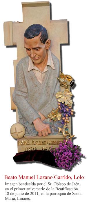 Resultado de imagen para oración DEL PERIODISTA Beato Manuel Lozano Garrido, Lolo