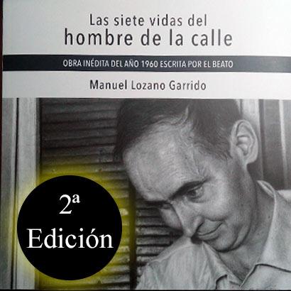 portada del libro Las siete vidas del hombre de la calle, segunda edición, del beato Lolo